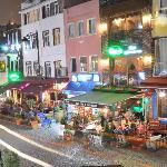 Hotel Gul Sultan Blick vom Zimmer (Nachts)
