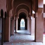 Corridor around reception area