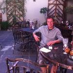 me at La Posada