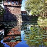 A quiet corner of Lüdinghausen