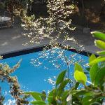 piscina en la parte interna