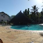 The pool - middle of the day!