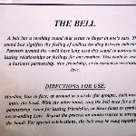 bell instructions