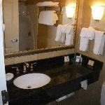 Very nice but small bathroom