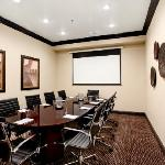 Enjoy an intimate gathering in our 10-person boardroom.