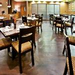 Dine-in or enjoy room service from M Restaurant