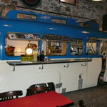 The bus/kitchen