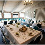 Wedding reherasal tables