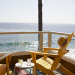 Pacific Edge Beachfront Room Balcony