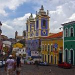 O Pelourinho-Salvador da Bahia