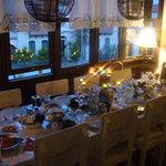 Sardunaki'de akşam yemeği