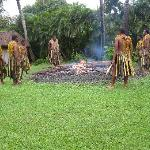 Fire walkers - An added activity held at the resort