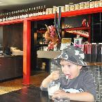 inviting restaurant - great coffee and gelato