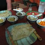 Dinner at Saj