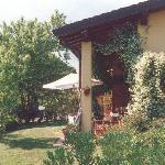 giardino e portico