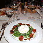 Buratta cheese for entree was lovely!
