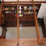 El bar, visto desde arriba