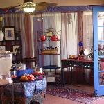 Breakfast nook, don't forget the French press coffee