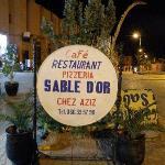 restaurant Sable d'or chez Aziz