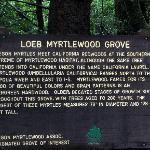 Brookings - Loeb SP - informational sign