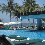 view from adult only pool