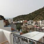 Vue dela terrasse de notre chambre