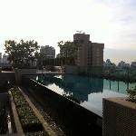 Swimming pool at 5.30pm