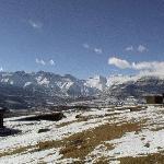 Lesotho, in winter