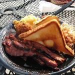 Texas brisket plate