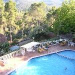 Vista piscina desde habitación