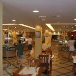 Inside main restaurant