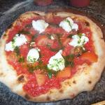 Buffalo MOzzarella Pizza
