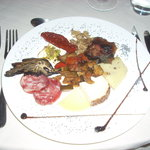 The antipasto at A Masseria - yum!
