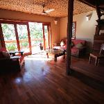 Lower floor of our villa