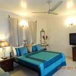 Executive room with 42 inch LCD TV & balcony