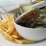 Kamakura Mussels with Chips