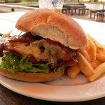 Outstanding beef burger