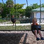 Swinging at the Playground - Sanibel