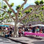 market day in Prades