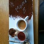 Café gourmand au Fuxia