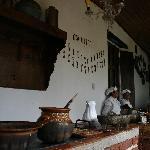 En el Restaurant las tortillas son hechas a mano. Una comida muy rica