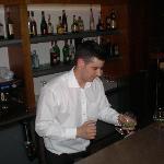 Reuben the bar staff member, great guy.