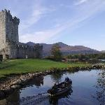 Ross Castle where The Gap of Dunloe Tour starts