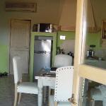 Blick in Wohnküche