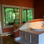 porch and jet tub