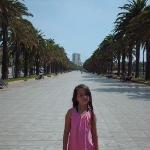 down near main Salou beach