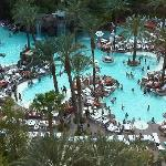 View from our room - Flamingo Adult Pool