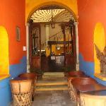 El café del hostel