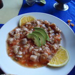ceviche - do NOT order this