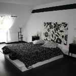 La chambre BLACK AND WHITE
